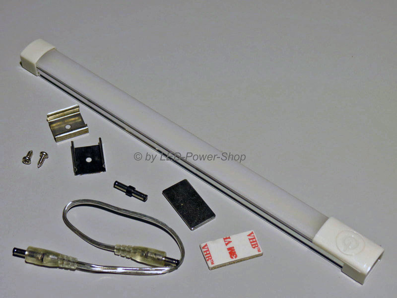 lichtleiste 1m 213 led smd sensorschalter kaltwei. Black Bedroom Furniture Sets. Home Design Ideas
