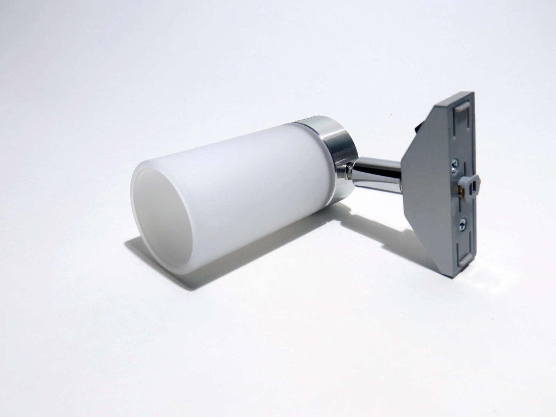 12v Dometic Schienenspot Echtglas Mit Schalter