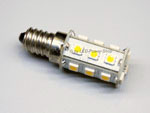 LED E14 low-voltage bulbs for camper, caravan, boats