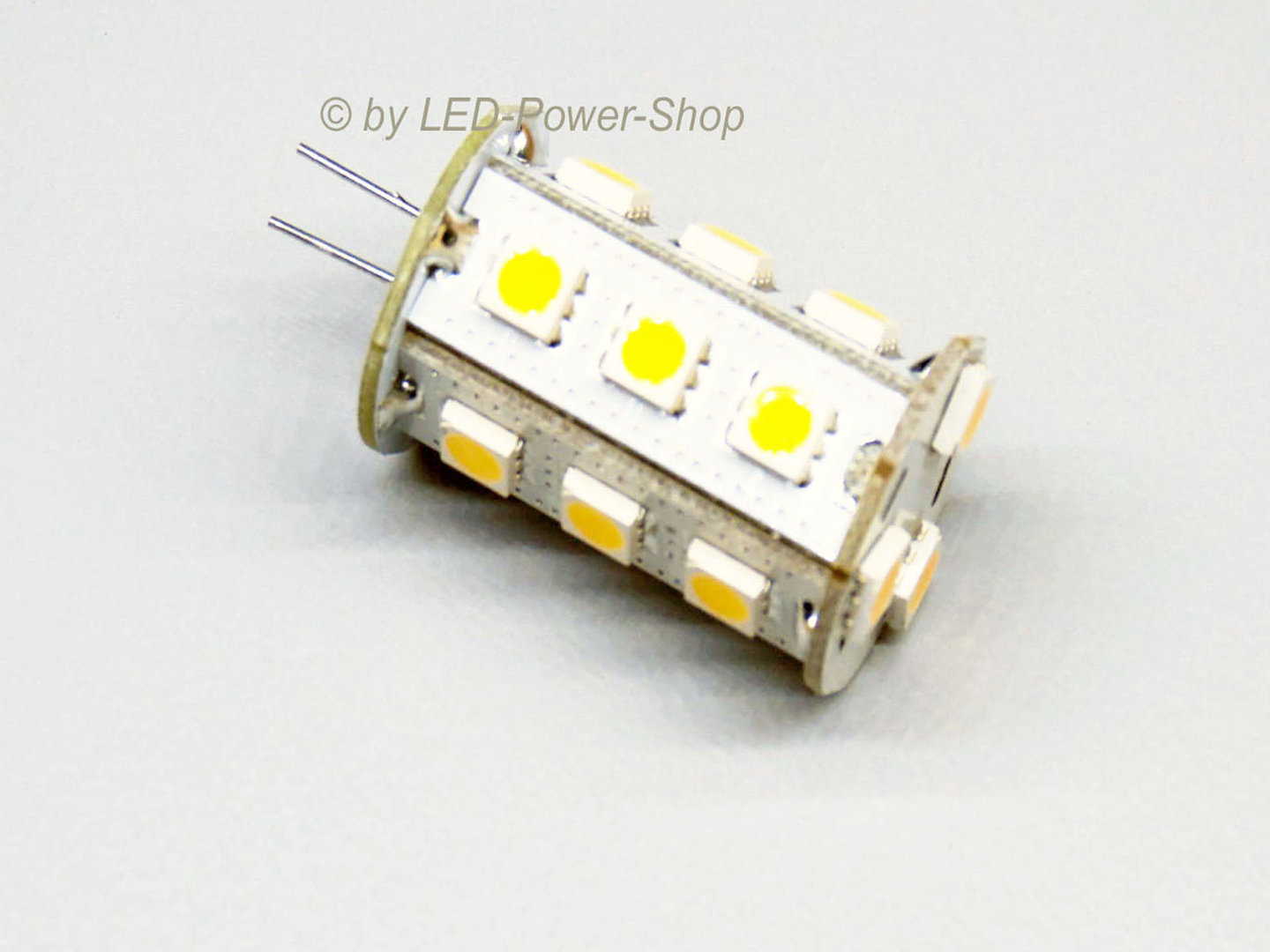 Stiftsockel G4V 18 LED SMD 10-30V warmweiß