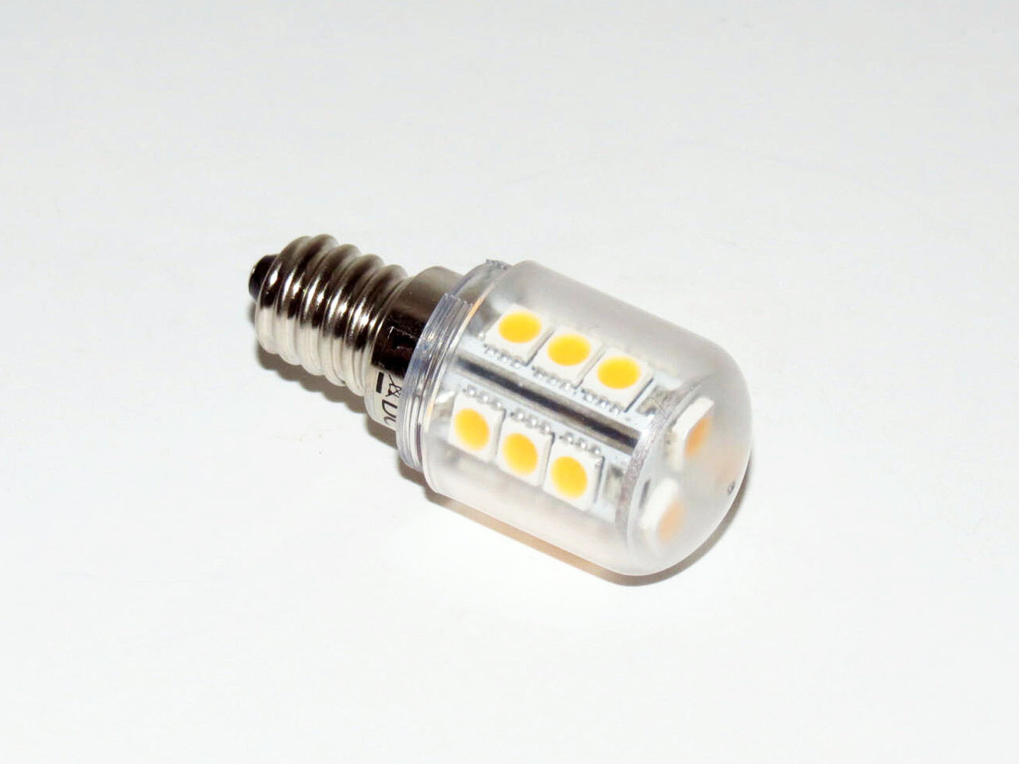 E14 18 LED SMD 10-30V warmweiß