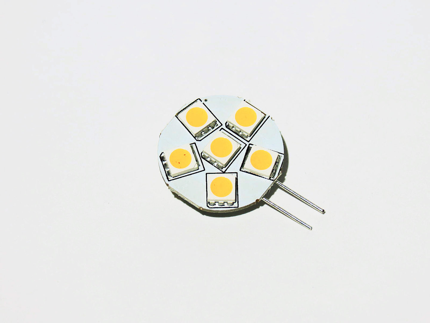 G4 H 6 LED SMD 10-30V warmweiß