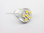 LED MR8 GU4 bulbs for campers, caravans & boats