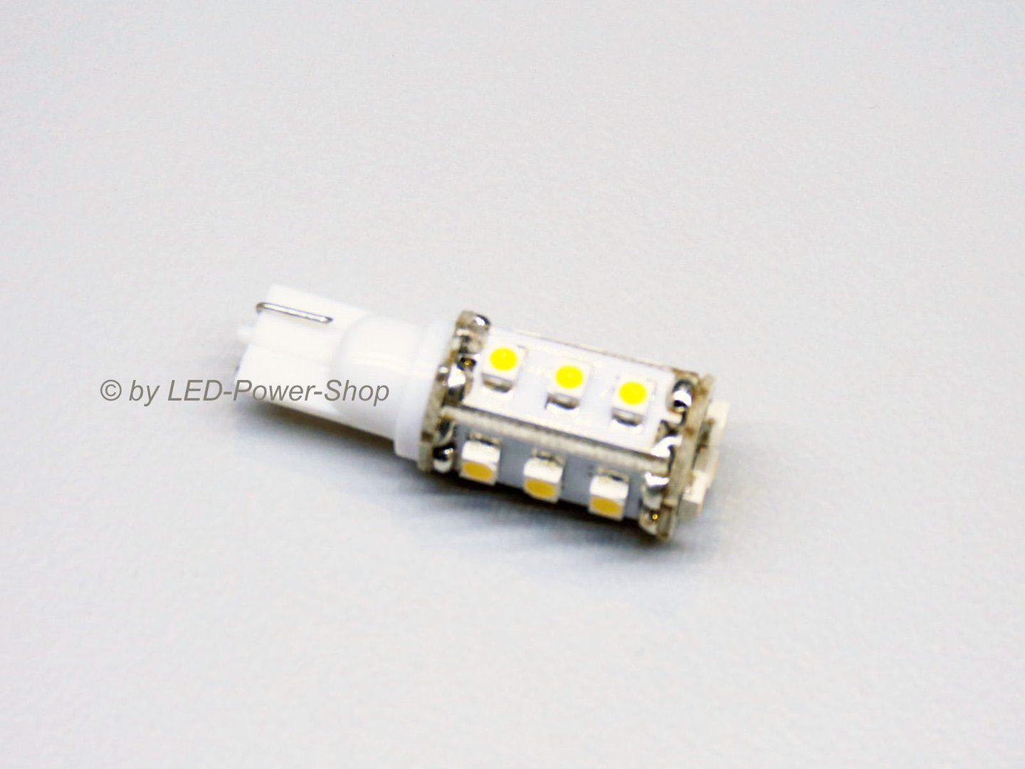 T10 15 LED SMD 10-30V warmweiß