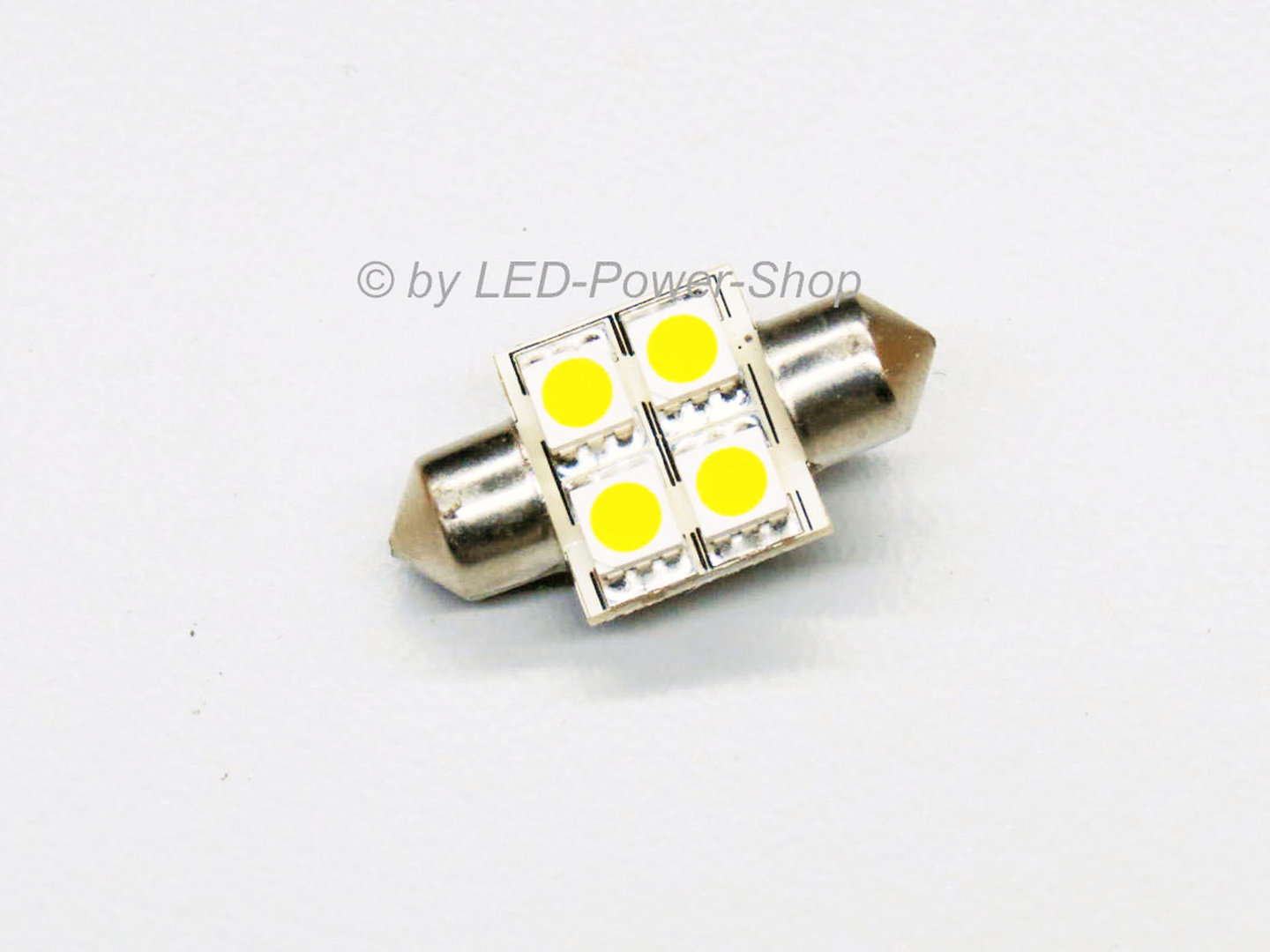 LED Soffitte 4 LED SMD 16x31mm 10-30V warmweiß