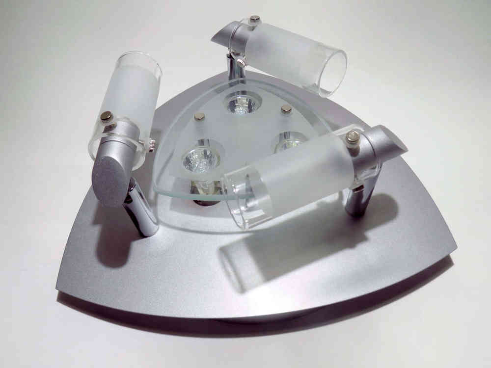 12v Dometic Deckenleuchte Patricia 6 Leuchtmittel Perlhellgrau