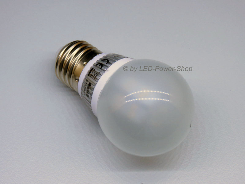 E27 Mini Globe 30 SMD LED 3W CLH50 frost warmweiß