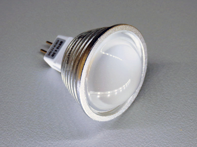 MR16 GU5.3 9 SMD LED 4,5W 60° warmweiß