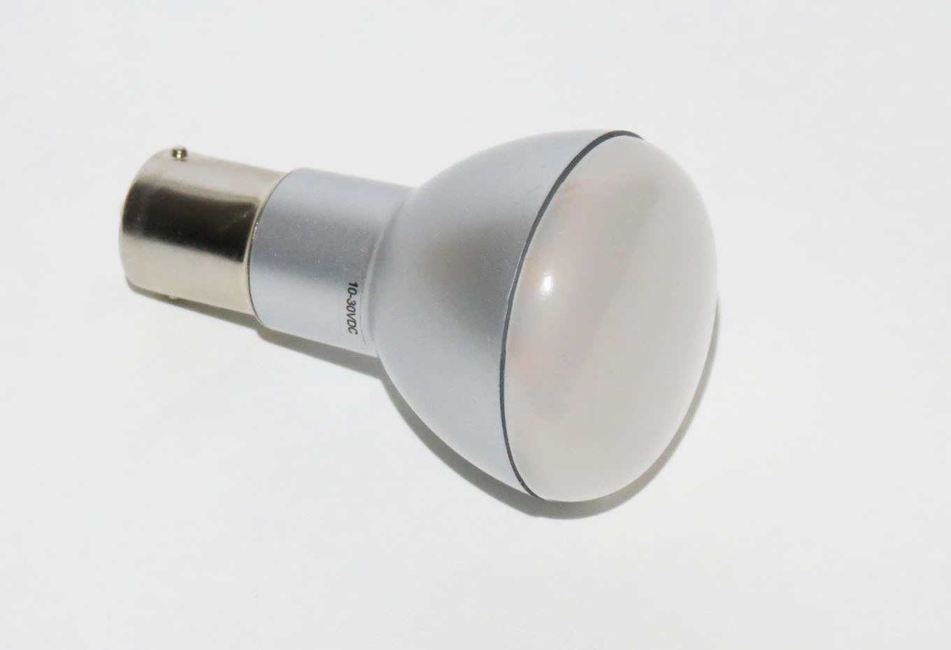 BA15s LED Mini Globe 10-30V warmweiß