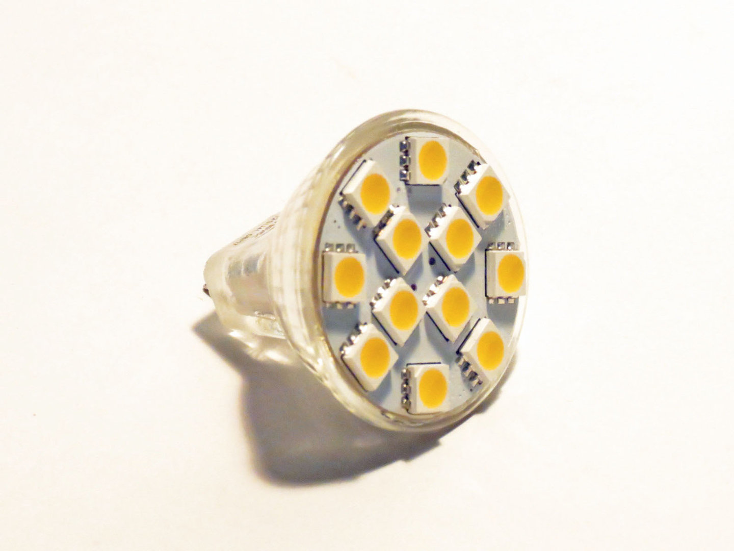 MR11 12 LED SMD 50/50 10-30V warmweiß