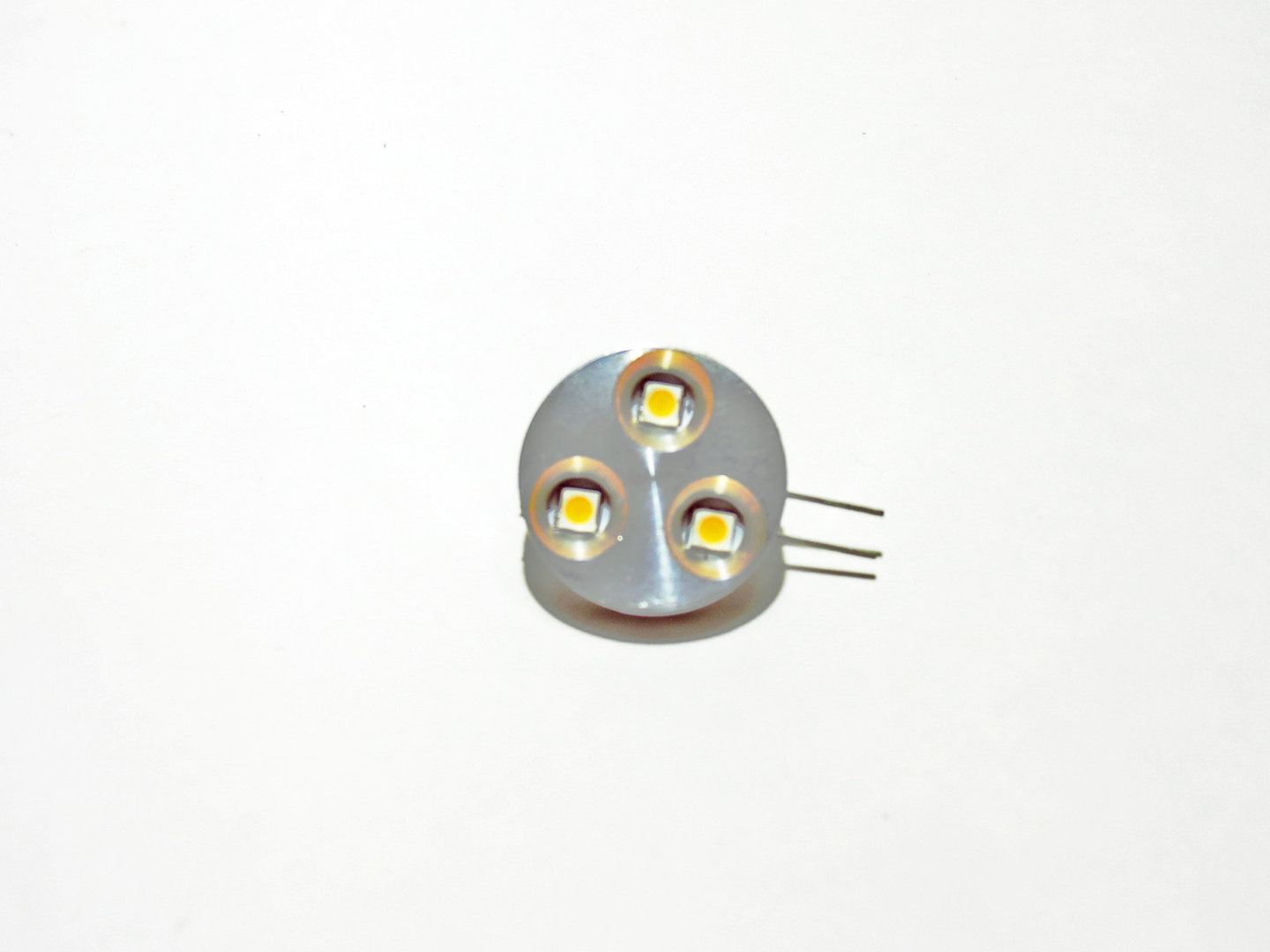 G4 H 3 LED SMD 10-30V Alu warmweiß