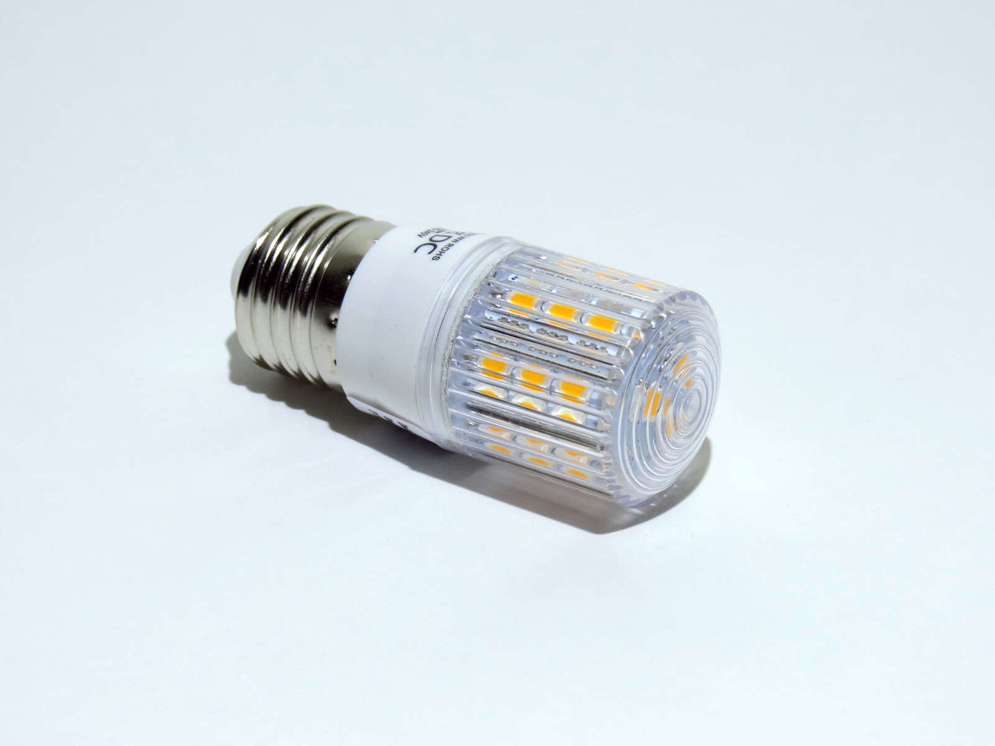 E27 24 LED SMD 230V warmweiß
