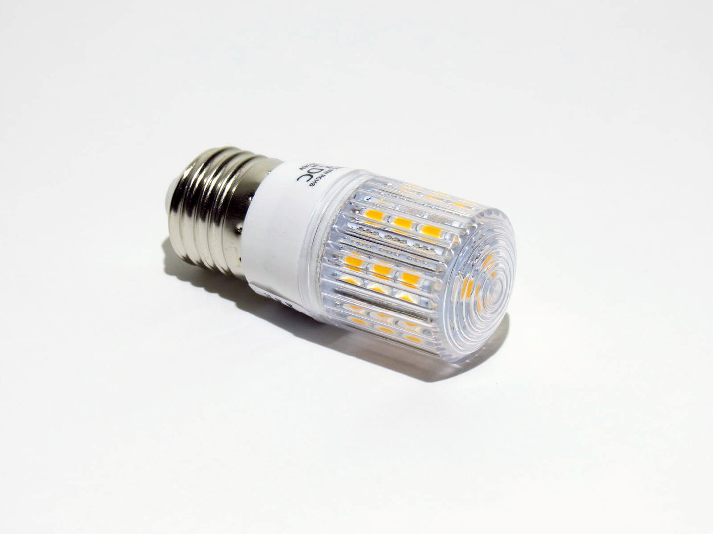 E27 24 LED SMD 10-30V warmweiß