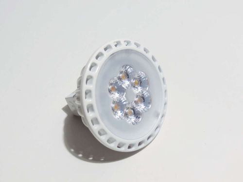 MR16 GU5.3 HighPower LED 6W 30° 3000k warmweiß