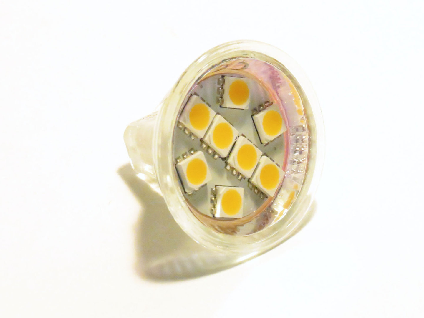 MR11 8 LED SMD 5mm 10-30V warmweiß