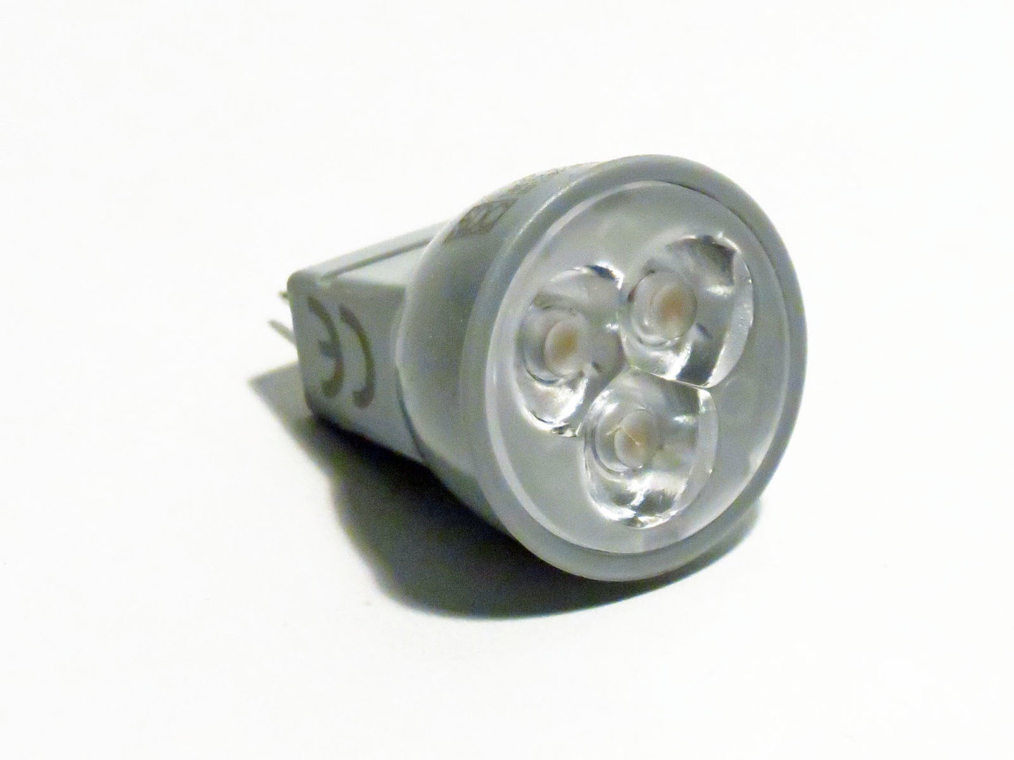 MR8 GU4 Power LED 1W 10-30V 30° warmweiß